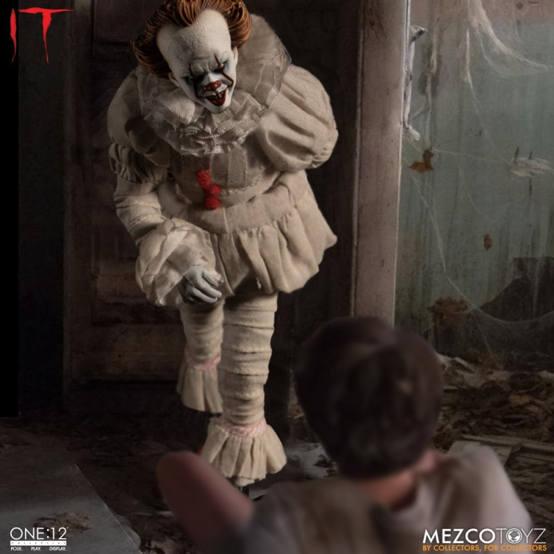 Mezco One:12 It (2017) Pennywise, Мецко Воно (2017) Пеннівайз, Мецко Оно Пеннивайз